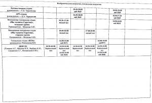 Расписание занятий 2021-2022, стр. 6